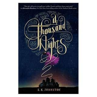 E-book English Novel  - A Thousand Nights by E. K. Johnston
