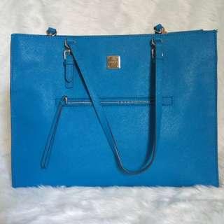 Sisley Blue Tote Bag