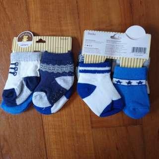 Carter's Socks (0-3mths)