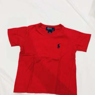 RL top red 12 to 18m