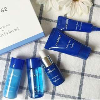 Laneige Perfect Renew Trial Kit [5 Items]