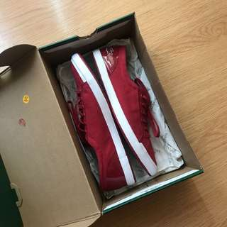 Lacoste Lancelle Lace Eye Sneakers - RED