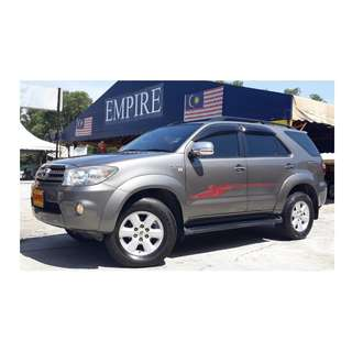 """TOYOTA FORTUNER 2.7 ( A ) VVT-I 4WD !! TRD SPORTIVO """" NEW FACELIFT """" !! SPECIAL EDITION SPECS !! PREMIUM SPECS THAT COMES WITH REVERSE CAMERA FULL ELECTRICAL LEATHER SEATS & ETC !! ( VX 7975 ) 1 CAREFUL OWNER !!"""