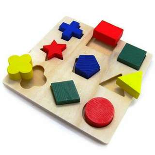 Basic shape puzzle