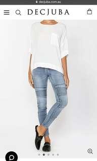Decjuba Riley Biker Jeans