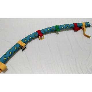 嬰幼兒 嬰兒床 搖床 安撫玩具 床邊玩具 玩具吊掛拉桿