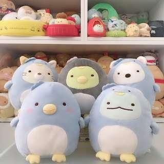 日本夾公仔景品 sumikkogurashi 角落生物企鵝系列