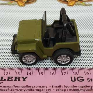 Pullback Jeep minicar toy