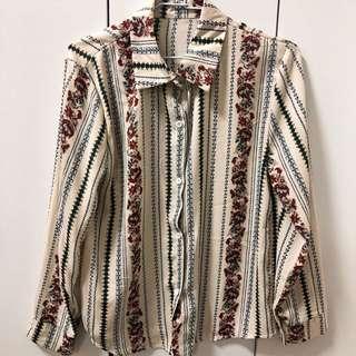 🚚 復古風🔥條紋襯衫