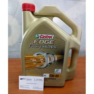 Car Servicing Castrol Edge 5W40
