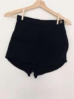 Neuw daisy denim shorts