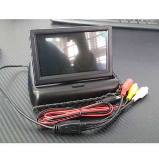 LCD Car Monitor For Car Rear View Reversing Camera