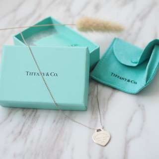 💥TIFFANY & CO CLASSIC NECKLACE  純銀頸鏈 耳環