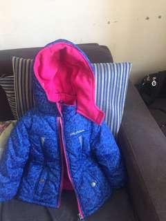 Pink platinum jacket 24 mos 2yrs old