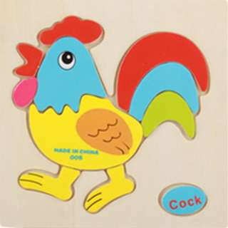 CZ06 - Kid Wooden Puzzle (Cock)
