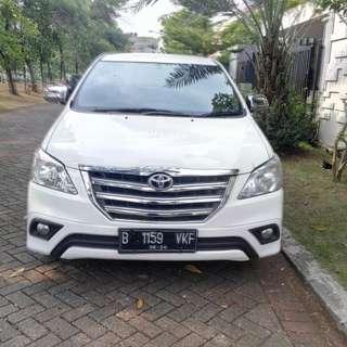 Rental mobil Innova murah dan berkualitas di Jakarta, hanya 550 ribu + driver.