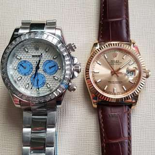 Rolex Daytona and Datejust