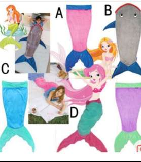Mermaid Tails and sharks