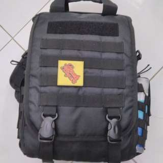 Tas Laptop Tactical Army look max laptop 15inchi