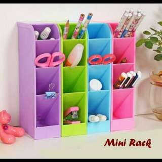 Mini rack(rak mini 4 sekat untuk tempat sendok&alat tulis