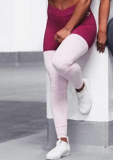 Gymshark two toned leggings size medium