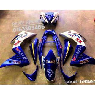 Honda RS150r Limited Edition Cover Set
