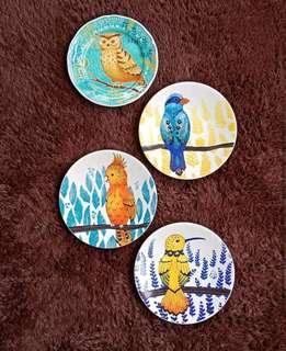 Birds series of 4