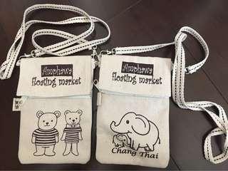 泰國小袋,熊仔🐻及象🐘