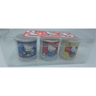 SANRIO ~ 日本版 2012 陶瓷小杯子 x 3 pcs