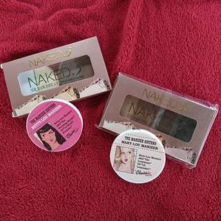 Naked 5 Bronzing Powder & Classic Queen