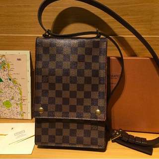 LV Damier Map Bag  香港購入 Shopbop賣4萬