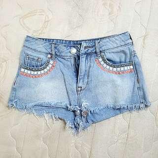 High rise summer shorts
