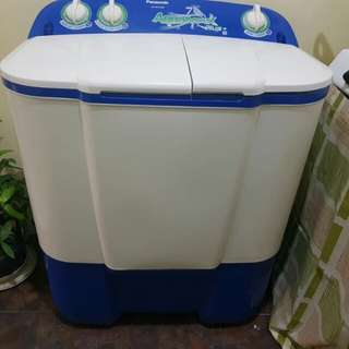 Washing machine with dryer for pick up
