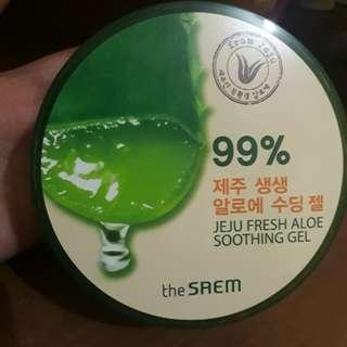 Jeju fresh aloe soothing gel THE SAEM