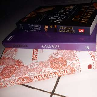 Preloved novel remaja & dewasa