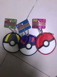 Pokeball coin pouch