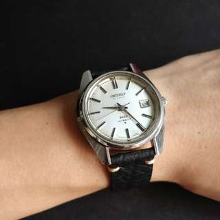 Recently Overhauled Vintage King Seiko 5625-7000 Antique Watch