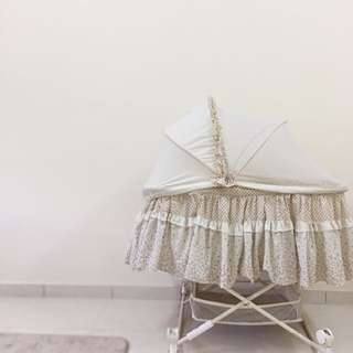 Baby craddle cot/swing/katil baby