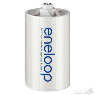 Eneloop AA to D Size battery converter adapter #easter20