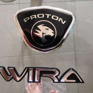 Wira logo and wording