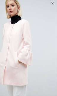 pink Jacket with flute sleeves