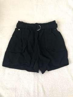 Forever New black shorts