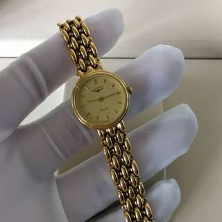 Authentic Longines Gold Watch