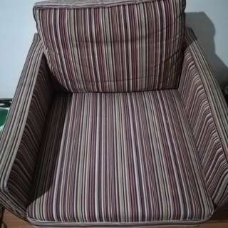 Ikea Stripe Sofa