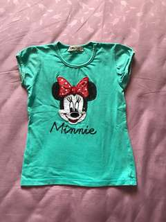 👶🏻👧🏻 Baby Girl's Minnie Top.