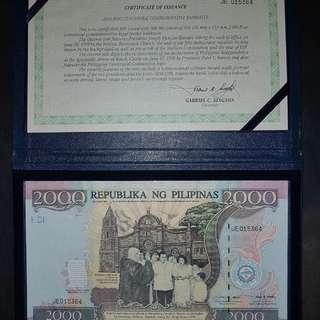 2000 Centennial Note