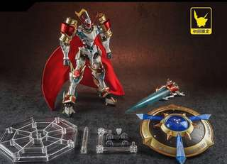 [PO] Tungmung Digimon Duke-X Dukemon EX First Gokin Chogokin Metal Build ETA: June-July 2018 (come with 1st issue special gift)