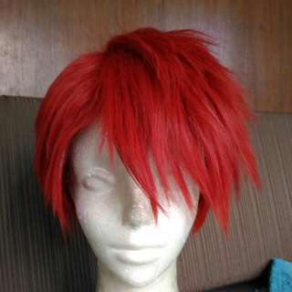Short Red wig