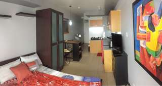 Fully furnished studio with balcony