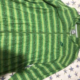 Green Nike XL Zip Up Jumper
